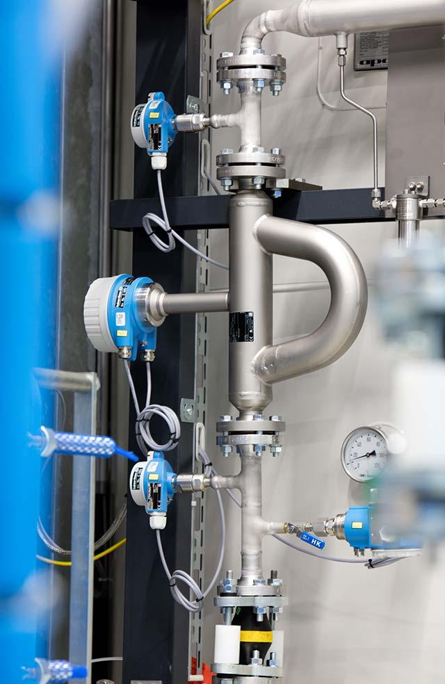 Endress+Hauser Coriolis flowmeter