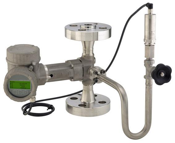 Prowirl vortex flowmeter